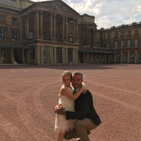 Harper Beckham Celebrated Her Birthday at Buckingham Palace With a Real Princess