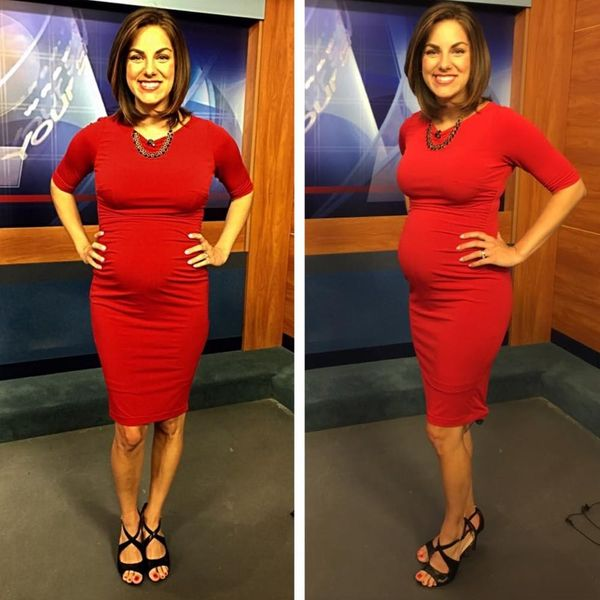 A Pregnant News Anchor Clapped Back at Body Shamers in the Best Way