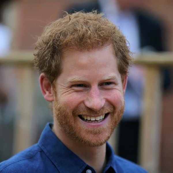 These Pics of Prince Harry Visiting a Sick Child's Family Will Melt Your Heart