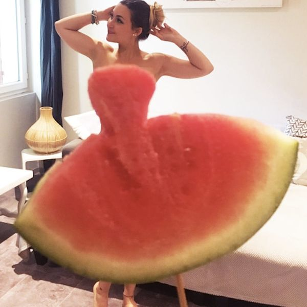 The Hottest Dress Trend of the Summer on the Internet Is… Watermelons?