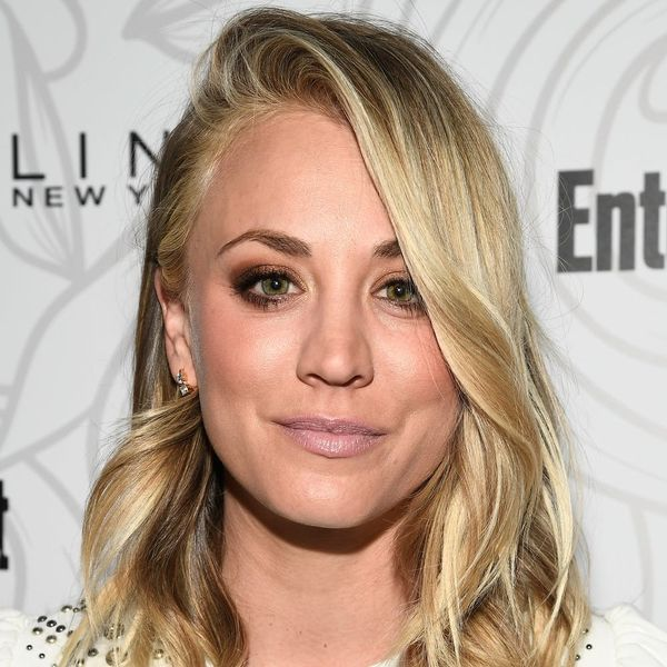 You'll Hardly Recognize Kaley Cuoco With Her New Sherbet Hair