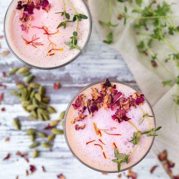 Get Your Caffeine Hit With Our Spiced Rose Latte Recipe