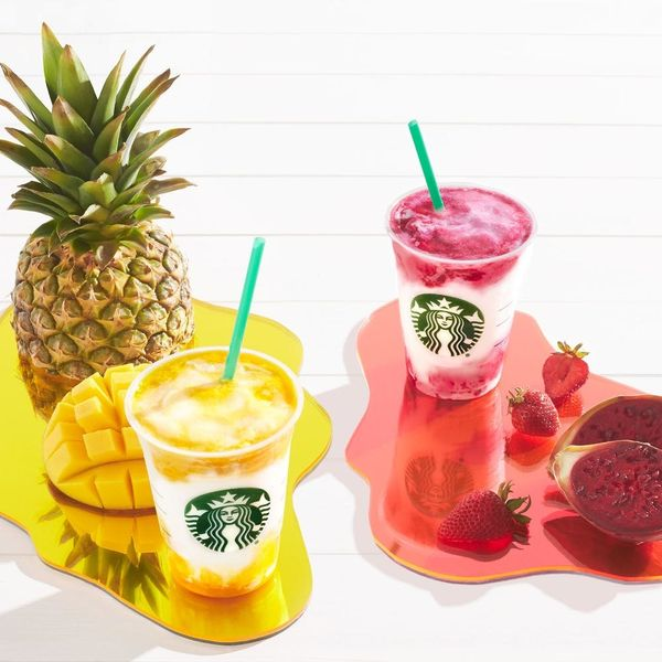 Starbucks' Mango Pineapple and Berry Prickly Pear Frappuccinos are Here