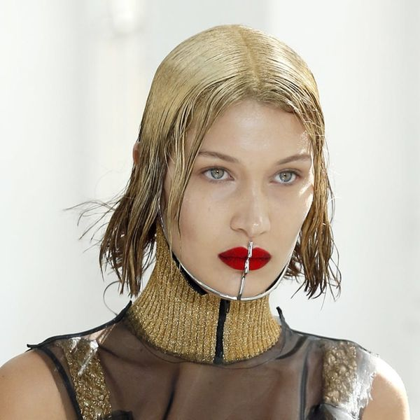 Bella Hadid Used Glitter to Go Blonde and the Result is Gorgeous