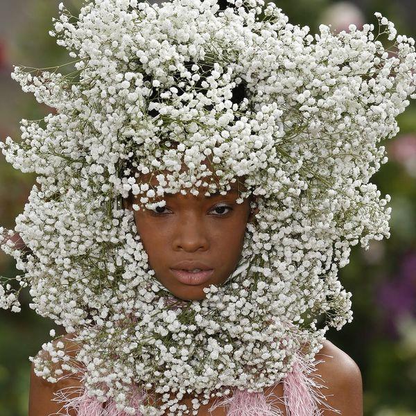 Rodarte Just Singlehandedly Made Flower Crowns Cool Again