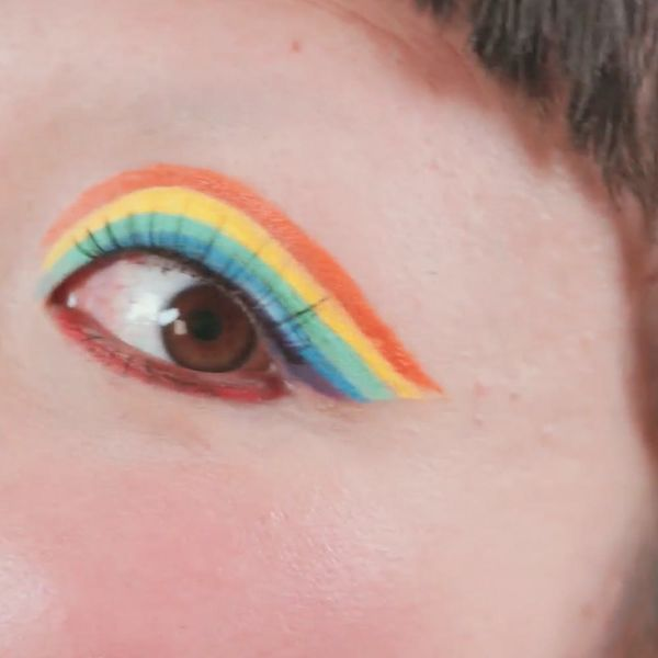 Rainbow Cat Eyeliner Is the Next-Level Beauty Trend You'll Want to Try, Stat