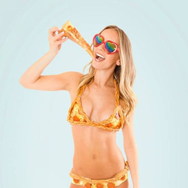 This Bikini Is Made of *Actual* Pizza and Costs As Much As a Car