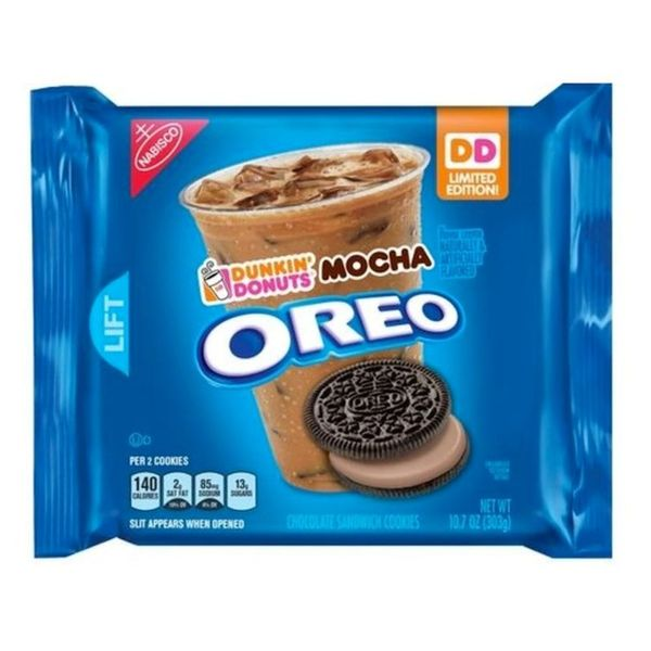 Dunkin' Donuts Oreo Mocha Cookies Are About to Be Your New Go-To Snack