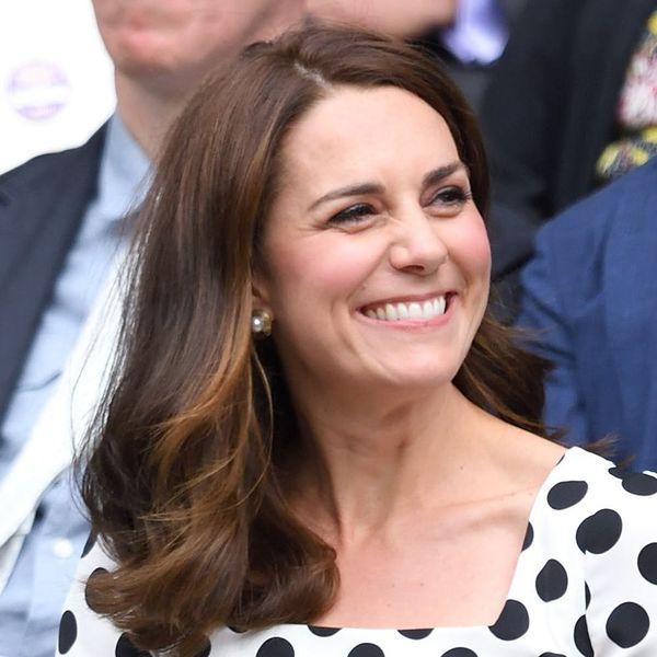 Kate Middleton Won the Wimbledon Style Game With Plenty of Polka Dots