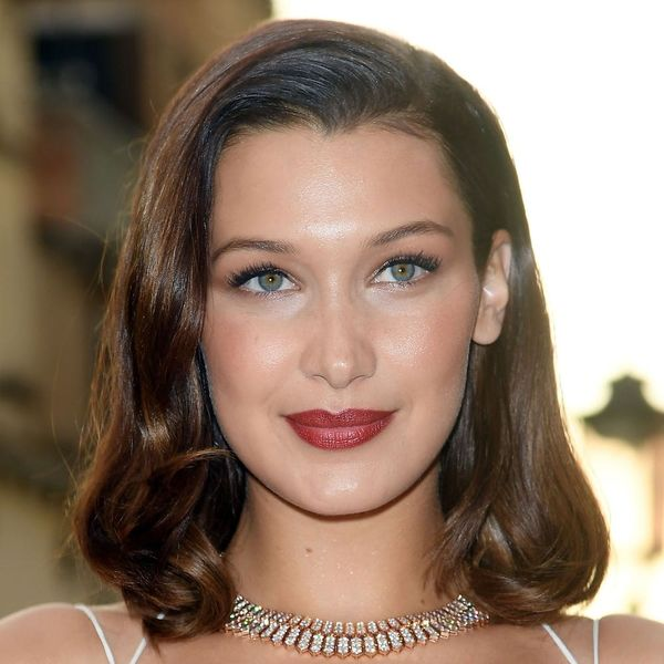 Bella Hadid Just Channeled a Modern Day Marilyn Monroe on the Red Carpet in Venice
