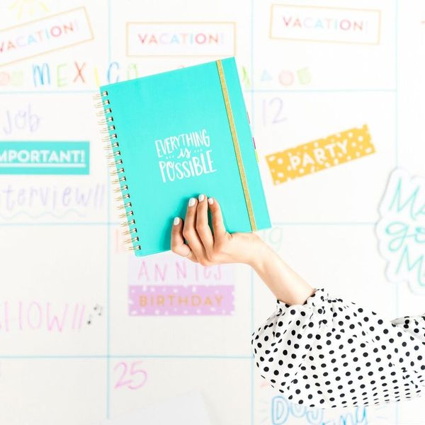 12 Gorgeous Undated Planners to Help You Get Organized Now