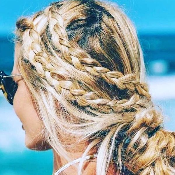 Messy Braids Are Everything We Want in a Summer Hairstyle