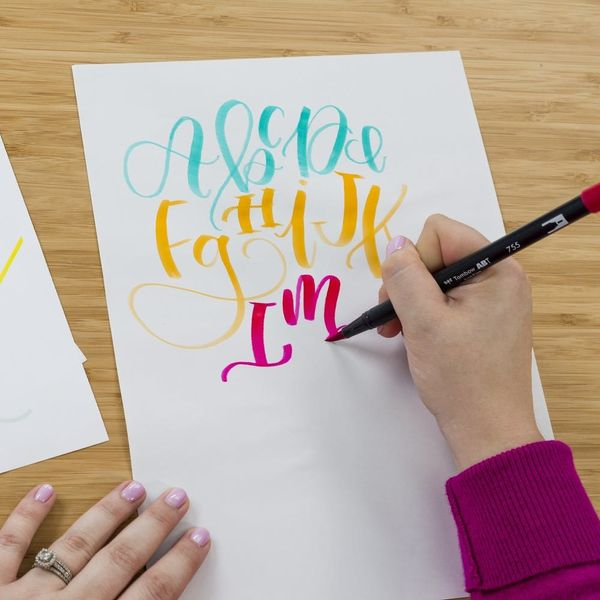 Brittany Luiz Is Back to Teach You How to Craft Your Own Brush Lettering Style