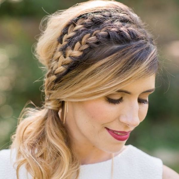 7 Romantic Ways to Rock a Ponytail at Your Wedding