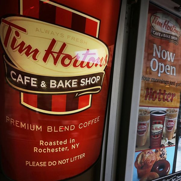 Tim Horton's Is Selling Poutine Donuts for Canada Day and We Have Questions