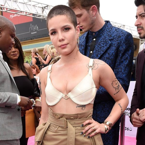 Halsey Just Totally Shaded Demi Lovato's Music With an Insult of Her Lyrics
