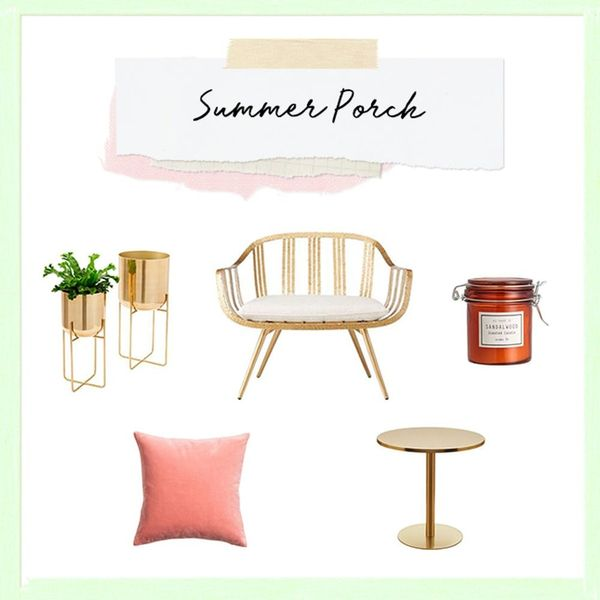 How to Decorate Your Porch for Summertime Lounging