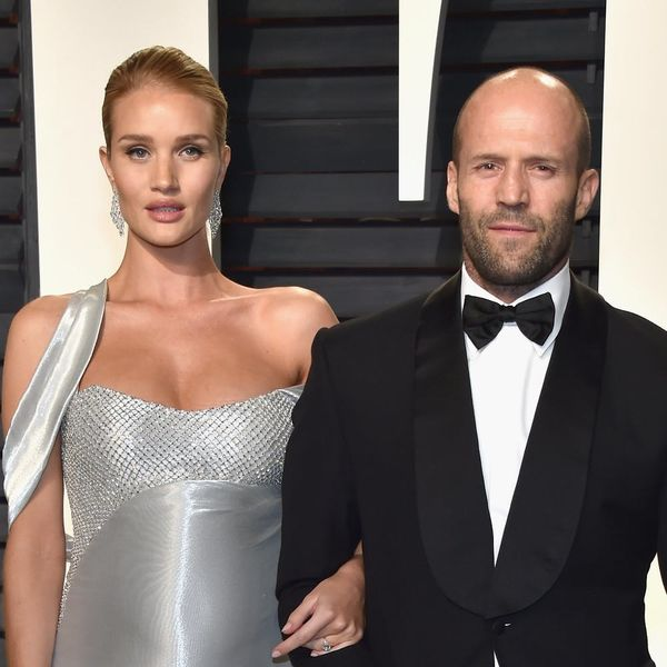 Rosie Huntington-Whiteley and Jason Statham Had Their Baby Boy and His First Pic Is Adorable