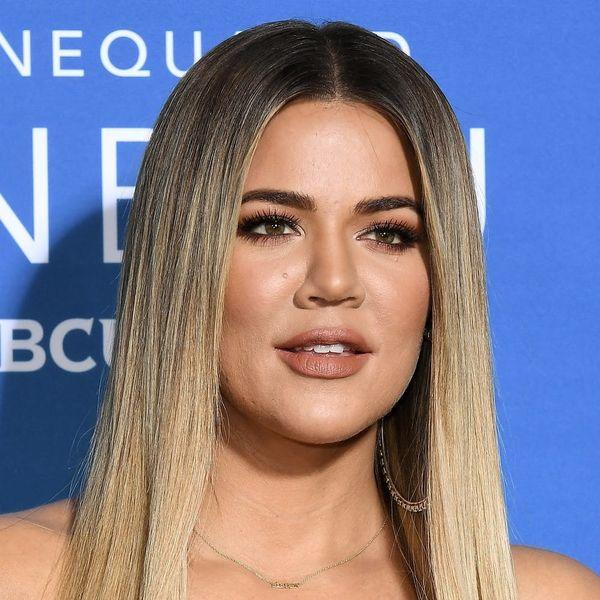 Khloé Kardashian Keeps Up With the Kardashians in a Sparkly Naked Birthday Dress