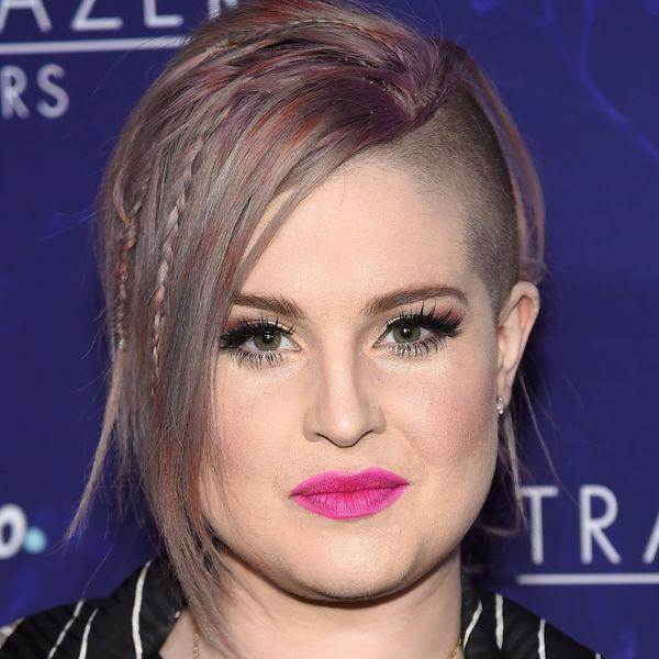 Kelly Osbourne Got the COOLEST Rainbow Monet Dye Job for Pride