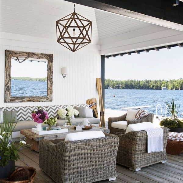 This Designer's Rustic-Chic Summer Home Is Haute to the Max