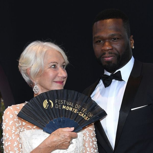 50 Cent Just Owned Up to a Massive Crush on Dame Helen Mirren