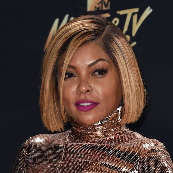 Taraji P. Henson Just Totally Changed Up Her Look With a Killer Curly Undercut