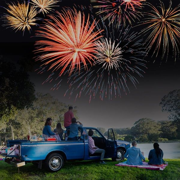 Pack Up the Truck and Throw a Tailgate Party for This 4th of July