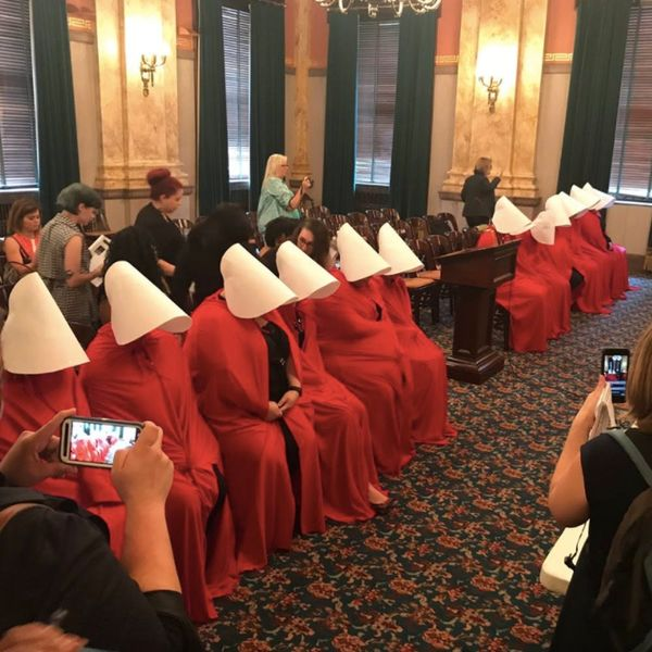 The Women Behind the Pro-Choice Handmaid Protests