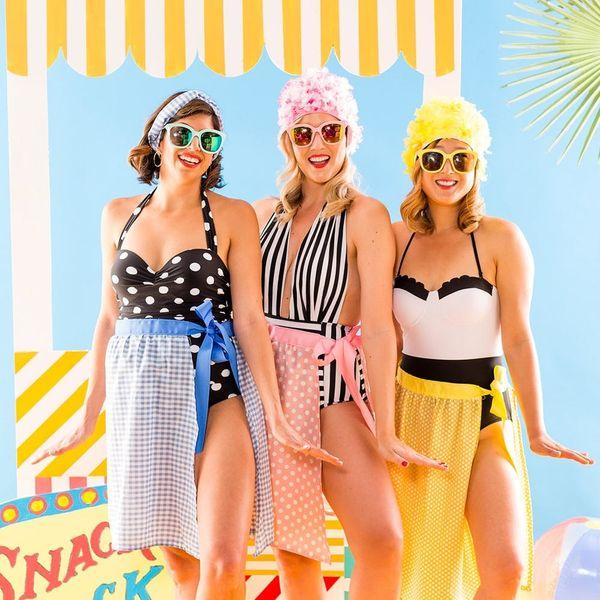 These 2 Easy Swimwear DIYs Make for a Perfect Retro Beach Day