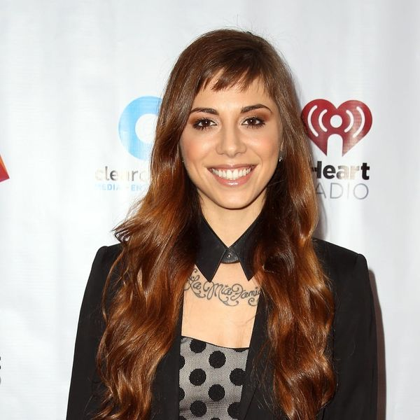 Singer Christina Perri Just Got the Perfect Engagement Ring to Show Off Her Finger Tattoos