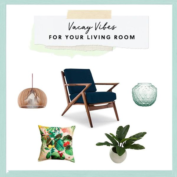 3 Ways to Make Your Living Room Feel Like a Permanent Vacation