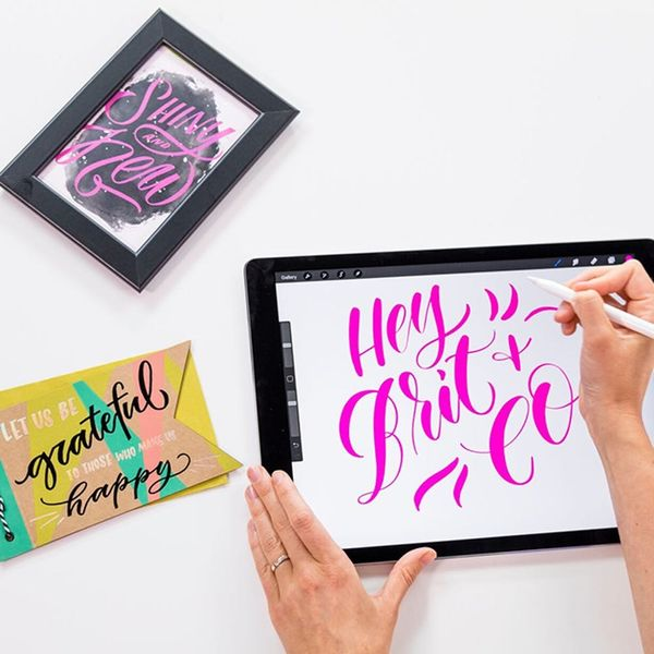 Learn iPad Lettering in the Procreate App with Molly Jacques