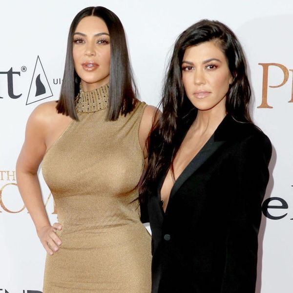 """Kim and Kourtney Kardashian Got """"Sister Puppies"""" for North and Penelope"""