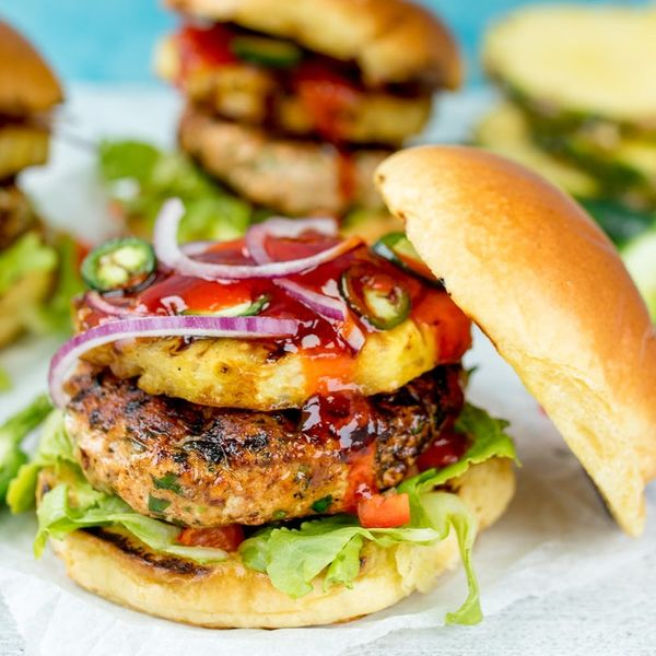 Up Your BBQ Game With Our Hawaiian Salmon Burger + Grilled Pineapple Recipe