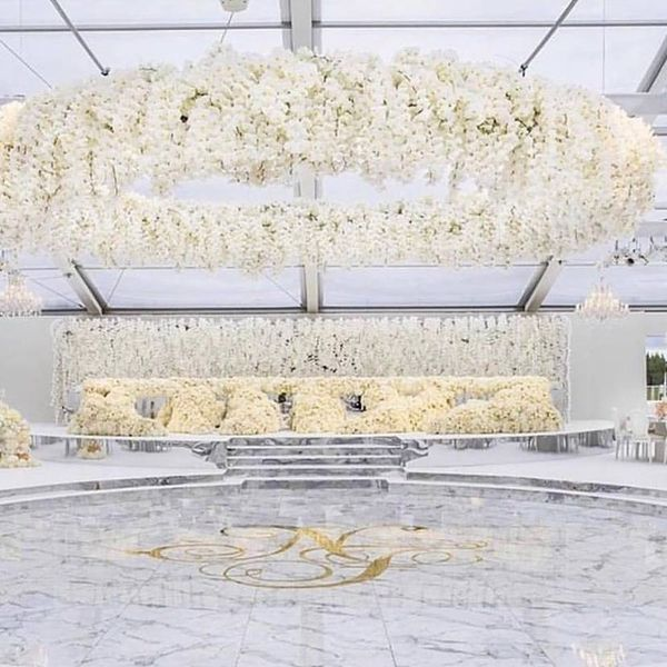 This $6.4 Million Wedding Included 1 Million Flowers Inside a British Castle
