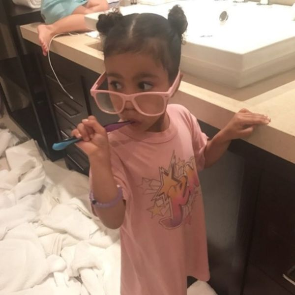 North West Celebrated Her 4th Birthday With Chuck E. Cheese's and a Slumber Party