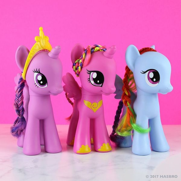 Check Out the New My Little Pony Nail Polish Collab Before It Hits Stores
