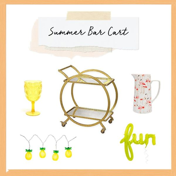 3 Ways to Jazz Up Your Bar Cart for Summer Party Season