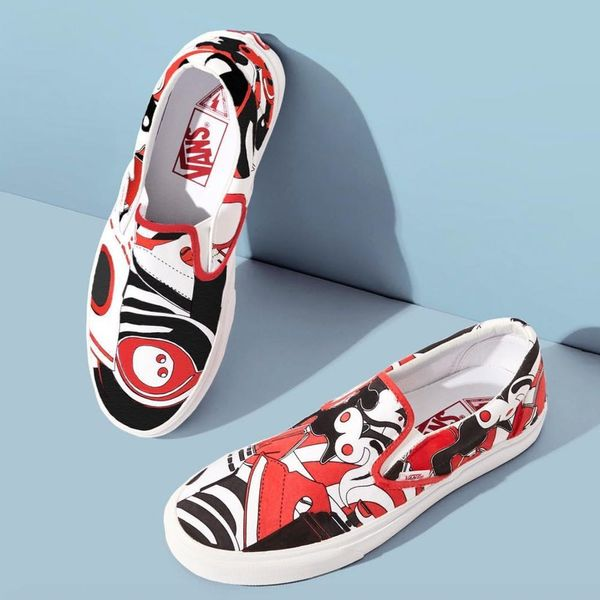 Marc Jacobs Is Teaming Up With Vans for a Sneaker Collab That Will Blow Your MIND