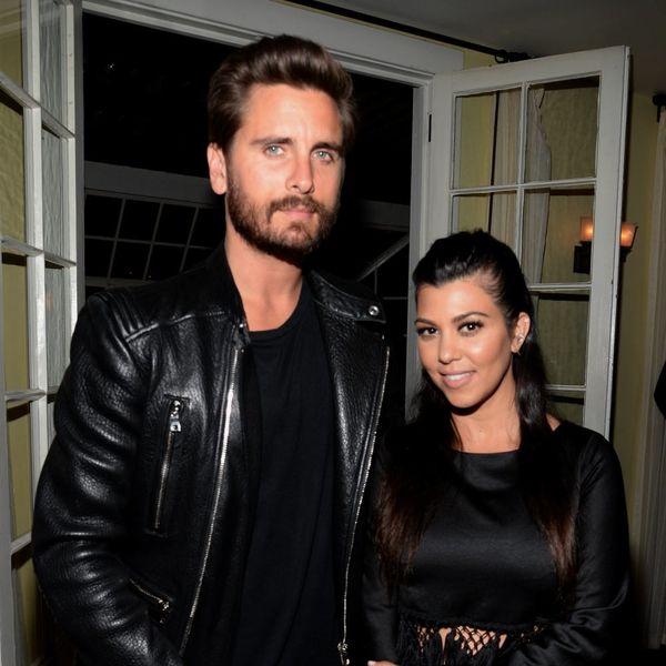 Kourtney Kardashian Apparently Had No Problem With Scott Disick's Scandalous Cannes Trip