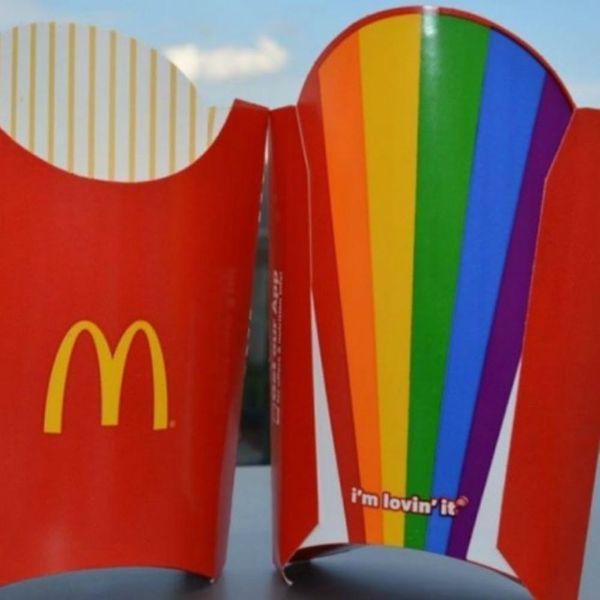 McDonald's Pride Month Fries Are a Technicolor Dream