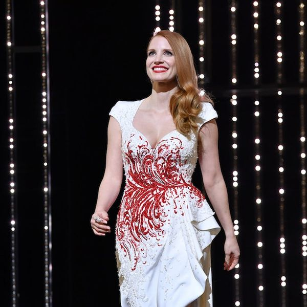See Jessica Chastain's Stunning Wedding Dress!