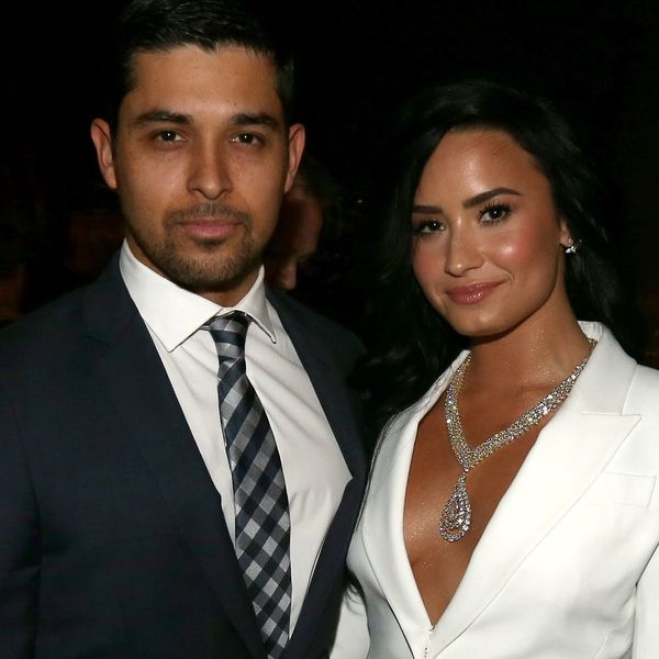 Demi Lovato and Wilmer Valderrama Just Reunited and Our Hearts Practically Exploded
