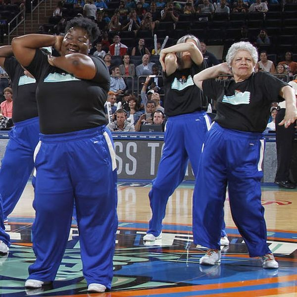 The WNBA's Senior Dance Team Proves Age Is Just a Number in the BEST Way