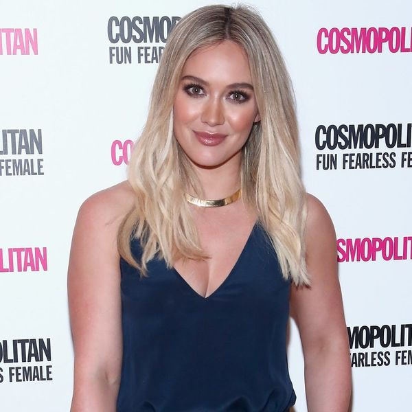 Hilary Duff Was Spotted in NYC Dressed Like Cinderella