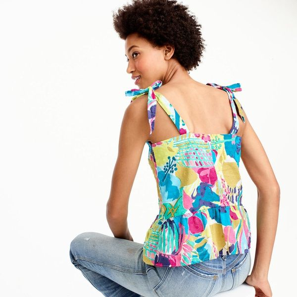 13 Summer Fashion Statement Pieces With Playful Shoulder Ties