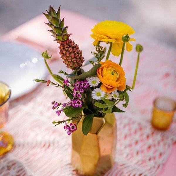 "14Tropical Floral Arrangements That Scream ""Summer Wedding!"""