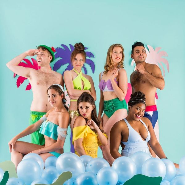 Say Hello to Summer With These DIY Disney Princess and Prince Bathing Suits