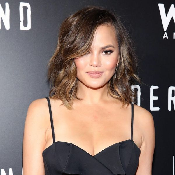 Chrissy Teigen's High School Cheerleading Photo Is Proof That She's Never Had an Awkward Stage